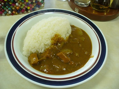 食堂カレー