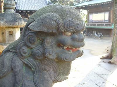 赤羽香取神社狛犬